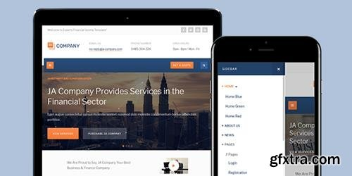 JoomlArt - JA Company v1.0.8 - Corporate Business Joomla Template