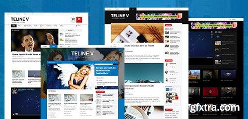 JoomlArt - JA Teline V v1.2.1 - Best Joomla News Template