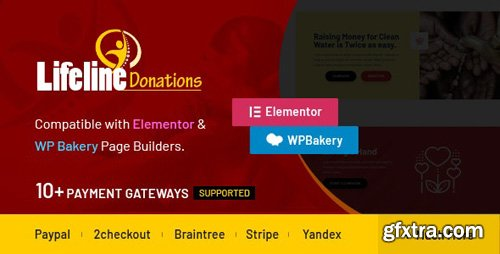 CodeCanyon - Lifeline Donations v1.3.2 - Multidimensional WordPress Donations Plugin - 24102147