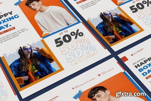 Creative Fashion Sale Poster Illustrator Template