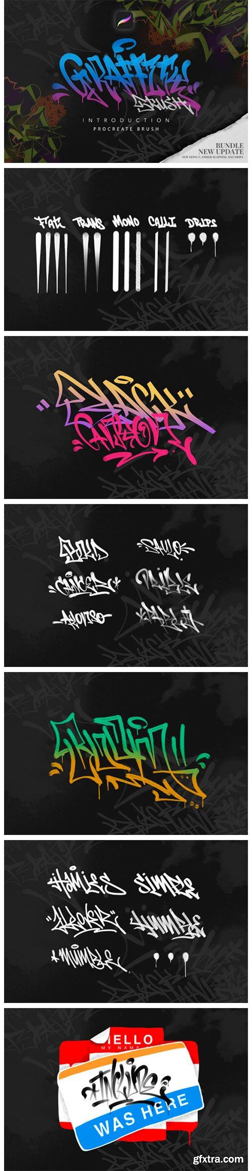 Procreate Graffiti Brush 2296909