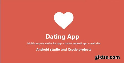 CodeCanyon - Dating App v4.6 - web version, iOS and Android apps - 14781822 - NULLED