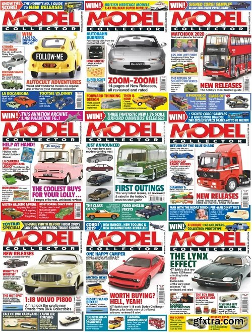 Model Collector - 2019 Full Year Issues Collection