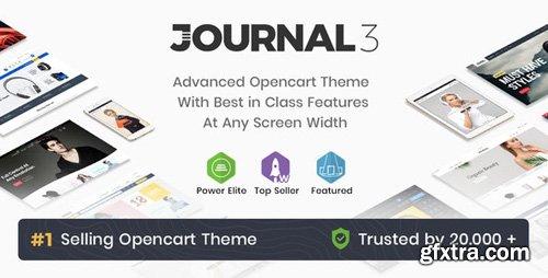 ThemeForest - Journal v3.0.44 - Advanced Opencart Theme - 4260361