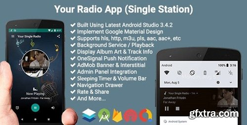 CodeCanyon - Your Radio App (Single Station) v4.0.1 - 19122125