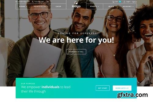 JoomShaper - Indigo v1.3 - Multipurpose Business & Corporate Agency Joomla Template