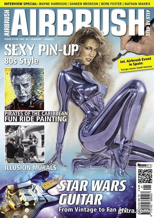 Airbrush Step by Step English Edition – January-March 2019