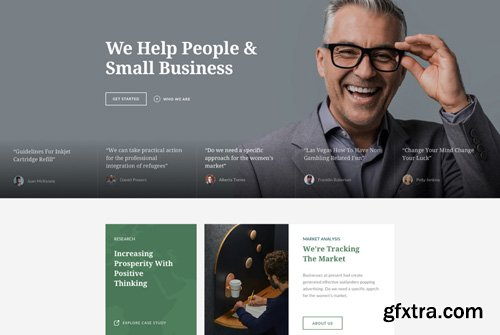 JoomShaper - Finatic v1.2 - Finance, Accounting & Consulting Firm Joomla Template