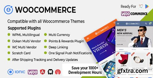 CodeCanyon - Ionic Woocommerce v3.0.1 - Universal iOS & Android Ecommerce / Store Full Mobile App - 21561737 - NULLED