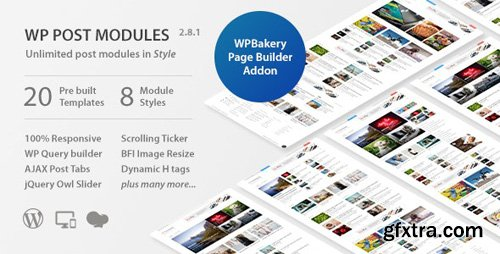 CodeCanyon - WP Post Modules for NewsPaper and Magazine Layouts v2.8.1 - 20142309