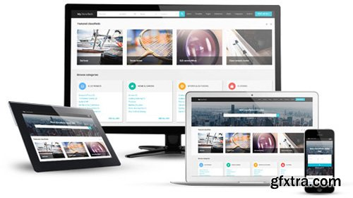 Joomla-Monser - JM ClassifiedAds v1.09 - Material Design Classified Advertising Joomla Website Template