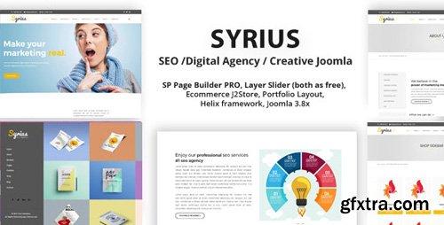 ThemeForest - Syrius v2.0 - SEO Digital Agency Creative Joomla Template - 19690474