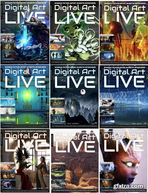 Digital Art Live - 2019 Full Year Issues Collection