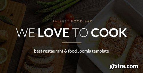 ThemeForest - JM Best Food Bar v1.04 - restaurant Joomla template - 15205296