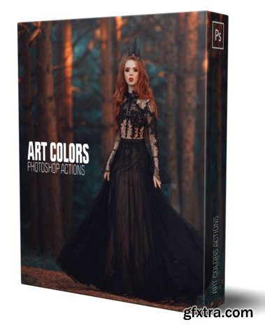 Artcolors.photoshop-professional - ART Coloring Actions by Alexey Kuzmichev