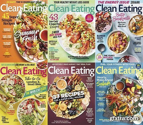 Clean Eating - 2019 Full Year Issues Collection