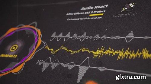 Videohive - Audio React Music Visualizer - 23470787