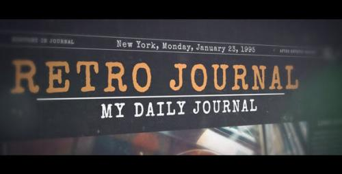 Videohive - History in Journal