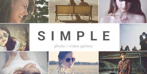 Videohive - SIMPLE - Parallax Photo Gallery