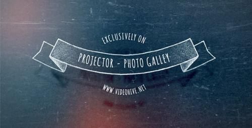 Videohive - Slide Projector - Photo Gallery