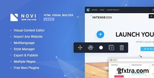 CodeCanyon - Novi v1.9.7 - HTML Page Builder & Visual Content Editor - 20530305