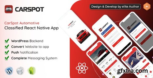 CodeCanyon - CarSpot v1.4 - Dealership Classified React Native App - 24793504