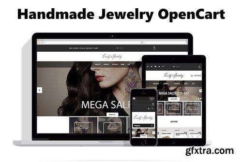 Handmade Jewelry OpenCart Template - TM 53968