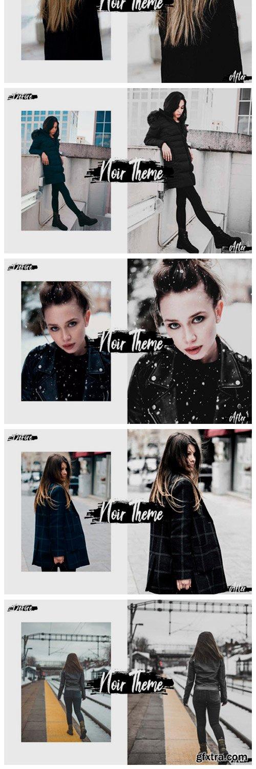 05 Noir Theme Photoshop Actions, ACR 2362252