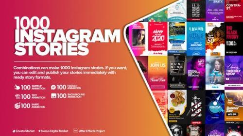 Videohive - Instagram Stories Pack