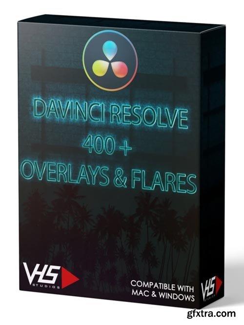 VHS Studio - VHS DaVinci Resolve 400+ Overlays & Flares