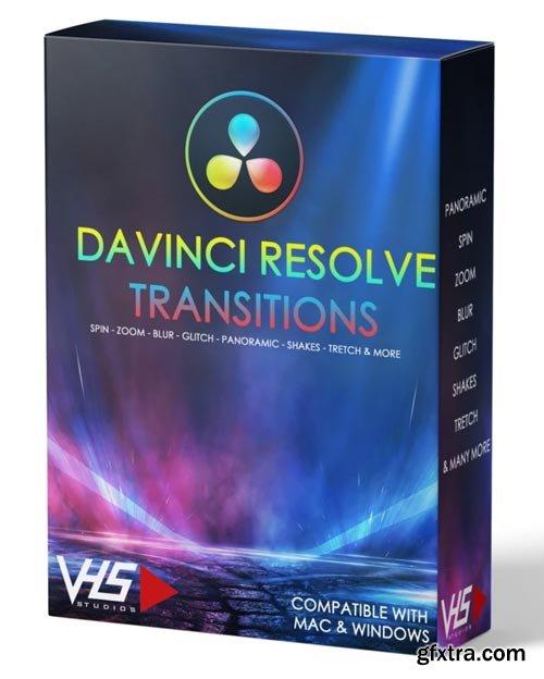 VHS Studio - VHS DaVinci Resolve Transitions