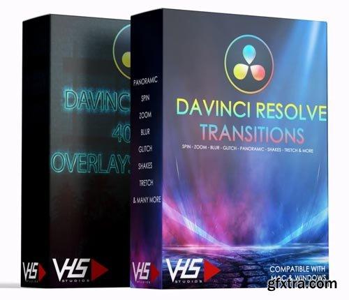 VHS Studio - VHS 600+ DaVinci Resolve Deluxe Pack