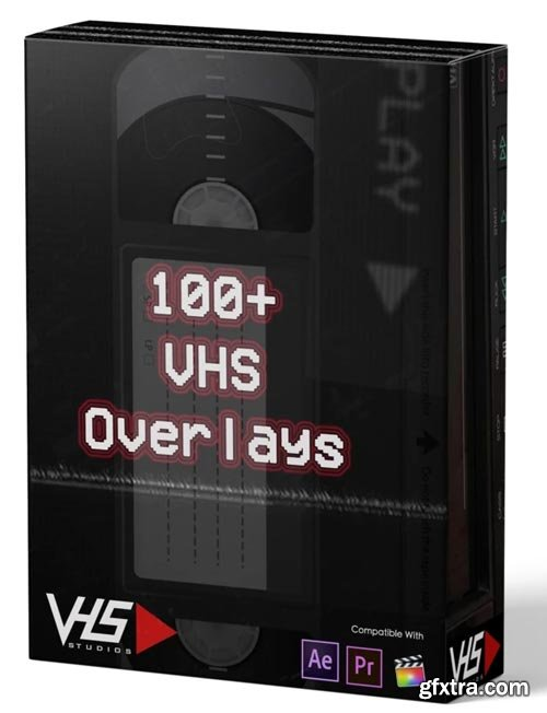 VHS Studio - VHS 100 + Overlays Package
