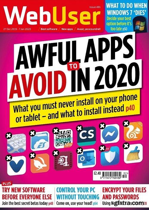 WebUser - Issue 491, 27 December 2019