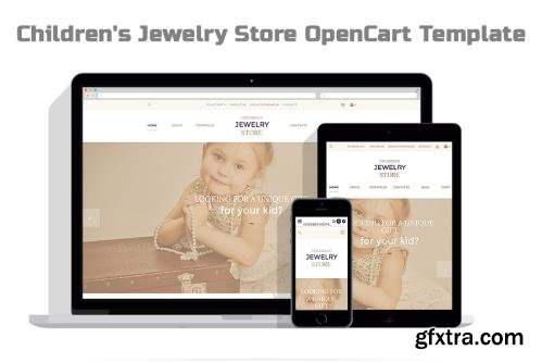 Children's Jewelry Store OpenCart Template - TM 57739