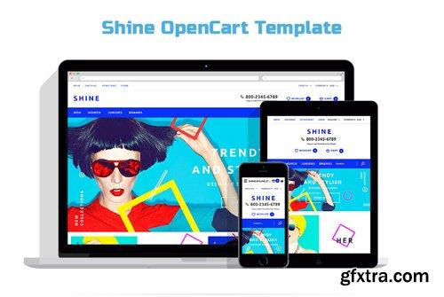 Shine OpenCart Template - TM 58113