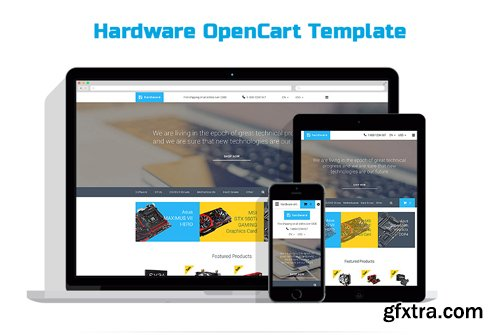 Hardware OpenCart Template - TM 58174