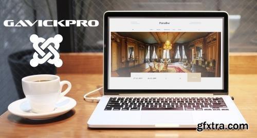 GavickPro - Paradise v1.0.0 - Joomla Template