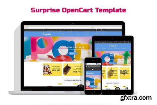 Surprise OpenCart Template - TM 58036