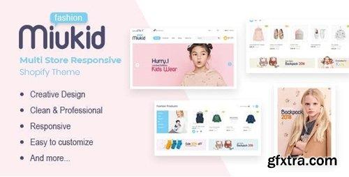 ThemeForest - MiuKid v1.0.1 - Multi Store Responsive Shopify Theme - 24024113
