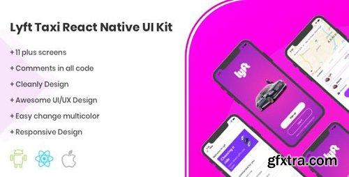 CodeCanyon - Lyft React Native UI Kit Taxi Template v1.0 - 24651649