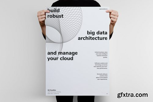 Big Data Poster Template 03