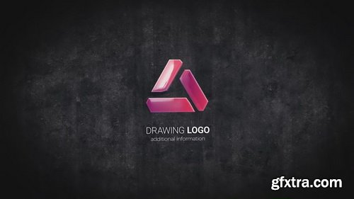 Videohive - Drawing 3D Logo Reveal V3 - 24094750
