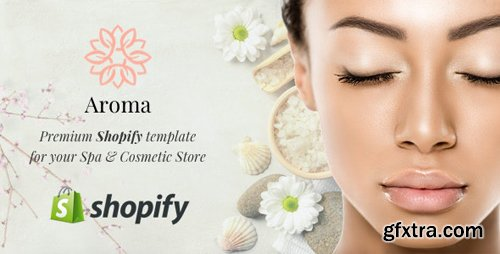 ThemeForest - Aroma v1.0 - Spa Shopify Theme - 24979646