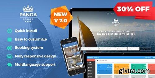 CodeCanyon - Panda Resort v7.3.0 - CMS for Single Hotel - Booking System - 12913332