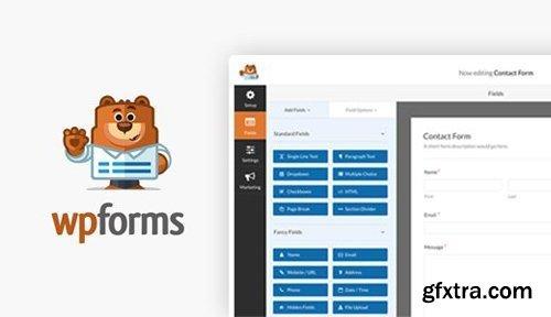 WPForms Pro v1.5.7 - Drag & Drop WordPress Form Builder - NULLED + Add-Ons
