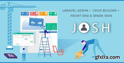 CodeCanyon - Josh v6.1 - Laravel Admin Template + Front End + CRUD - 8754542