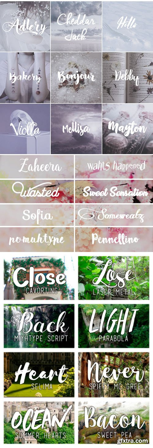 52 Fonts Collection