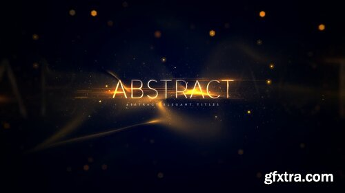 Videohive - Abstract Elegant Titles - 22944935