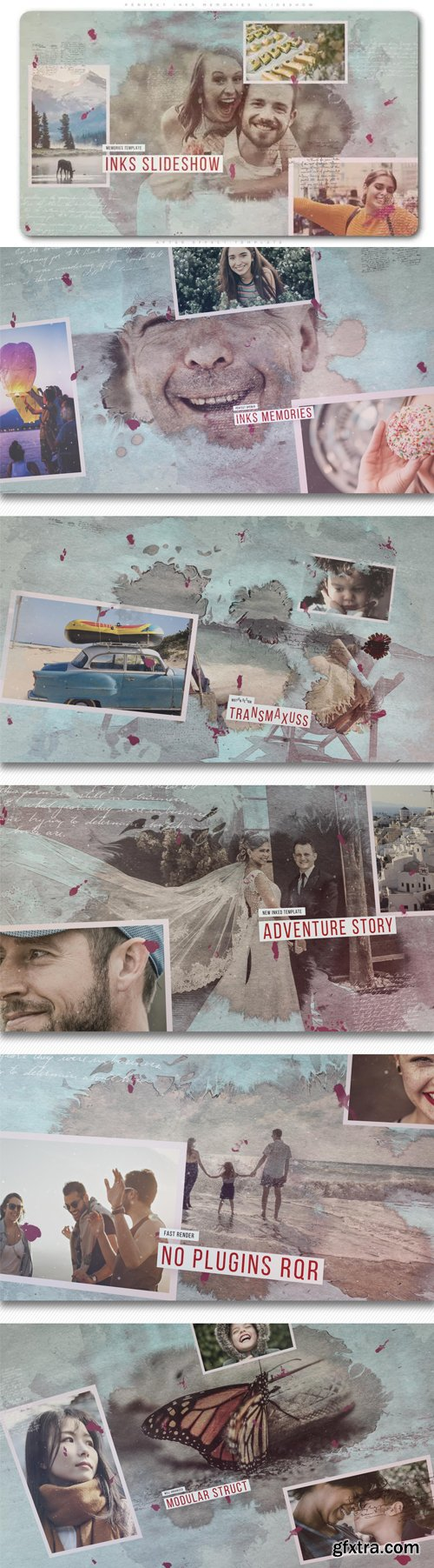 Videohive - Perfect Inks Memories Slideshow - 23051154